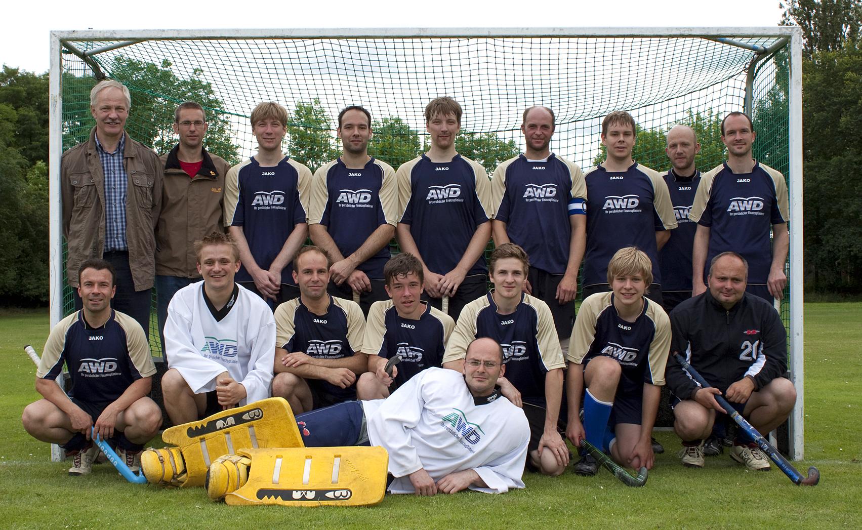 Mannschaftsfoto Herren 2011/2012